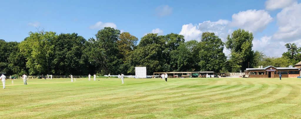 Club New County Sight-Screens, Electronic Scoreboard & ground view